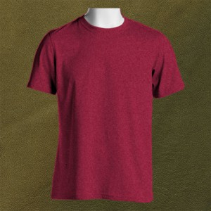 Crew-Neck-T-Shirt-Front-Featured-Image-Heather-Cardinal