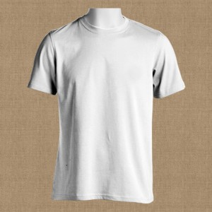 Crew-Neck-T-Shirt-Front-Featured-Image-White