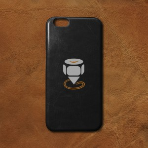 Printed-iPhone-6-PU-Leather-Case-Featured-Image-Black