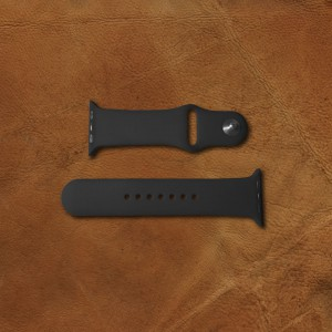 Silicone-Watch-Band-Featured-Image-Top-Black