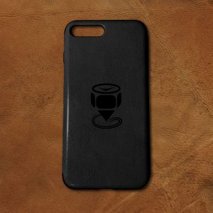 Engraved-iPhone-7-Plus-PU-Leather-Case-Featured-Image-Black