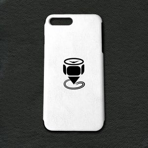 Engraved-iPhone-7-Plus-PU-Leather-Case-Featured-Image-White