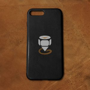 Printed-iPhone-7-Plus-PU-Leather-Case-Featured-Image-Black