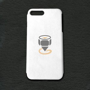 Printed-iPhone-7-Plus-PU-Leather-Case-Featured-Image-White